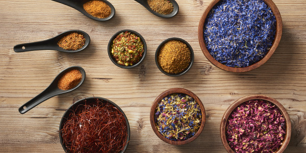 Herbs, spices, flowers