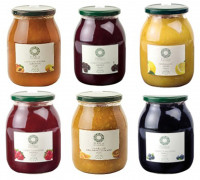 Mix di confetture extra e marmellate biologiche - Mix of Organic Extra Jams and Marmalades