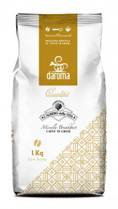 Breakfast Coffee Blend in beans Bag 1000 g nt. wt.