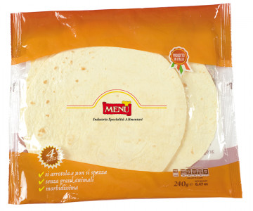 Tortillas - Tortillas Bag 240 g nt. wt.
