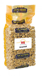 Arachidi tostate salate - Salted Roasted Peanuts Bag 1000 g nt. wt.