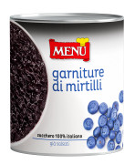 Garniture di mirtilli - Blueberry topping