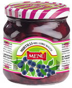 Mirtilli nel loro succo - Blueberries in blueberry juice