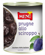 Prugne allo sciroppo - Prunes in syrup