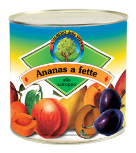 Ananas a fette -  Pineapple Slices Tin 3050 g nt. wt.