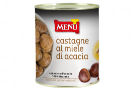 Castagne al miele di acacia - Chestnuts with acacia honey
