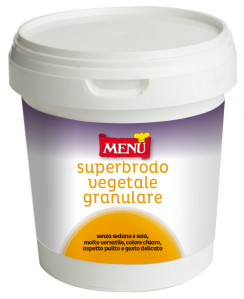 Superbrodo vegetale granulare 600 g - Plastic jar with a plastic seal