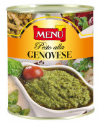Pesto alla genovese (Pesto genovés)