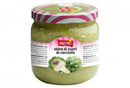 Salsa di cuori di carciofo (Salsa de corazones de alcachofa)