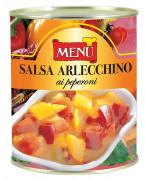 Salsa arlecchino ai peperoni (Salsa arlequín de pimientos)