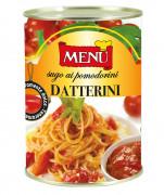 Sugo ai pomodorini datterini (Sauce aux tomates cerises «Datterini»)
