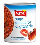 Sugo alla polpa di granchio (Sauce mit Krabbenfleisch)