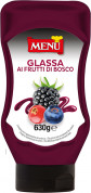 Glassa ai frutti di bosco (Glaçage aux fruits rouges)
