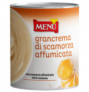 Grancrema di Scamorza affumicata - Grancrema cheese sauce with Smoked Scamorza