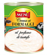 Crema ai formaggi al profumo di tartufo - Cheese cream aromatised with truffle