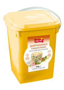 Gastronomica Mayocream 5 kg - Plastic bucket with a plastic seal