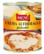 Crema ai formaggi spalmabile -  Spreadable 4 Cheeses sauce