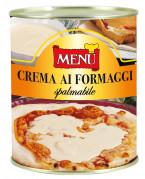 Crema ai formaggi spalmabile -  Spreadable 4 Cheeses sauce