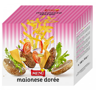Maionese Dorée  - Doreé  Mayonnaise Single serving packet 18 g nt. wt.