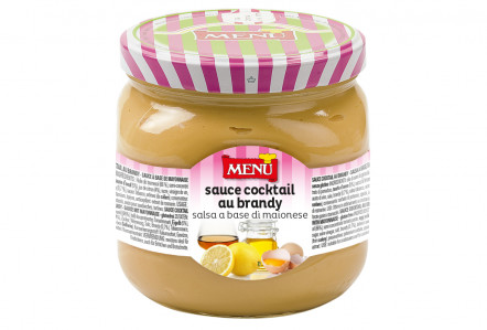 Sauce cocktail au brandy - Cocktail sauce Glass jar 750 g nt. wt.