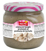Crema di funghi prataioli al profumo di tartufo –  Button mushrooms paste with truffle aroma