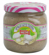 Crema di funghi prataioli al profumo di tartufo – Cream of button mushrooms aromatised with truffle