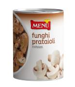 """Funghi prataioli trifolati caminetto rosso - """"Caminetto Rosso"""" Button mushrooms with olive oil, garlic and parsley"""