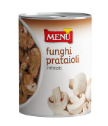 "Funghi prataioli trifolati caminetto rosso - ""Caminetto Rosso"" Button mushrooms with olive oil, garlic and parsley"