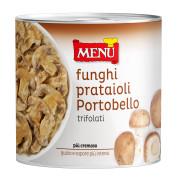Funghi Prataioli Portobello trifolati (Champiñones Portobello)