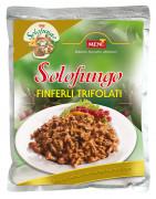 Solofungo Finferli Trifolati - Solofungo Chanterelle mushrooms prepared with oil, garlic and parsley