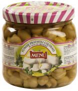 Prataioli in olio di girasole - Button mushrooms in sunflower seed oil