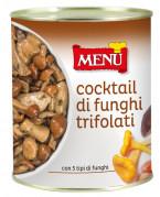 Cocktail di funghi trifolati (Cocktail de champignons sautés à l'ail et au persil)