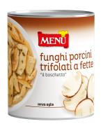 """Funghi Porcini """"Boschetto"""" a fette trifolati - """"Boschetto"""" Sliced Porcini Mushrooms with olive oil, garlic and parsley"""