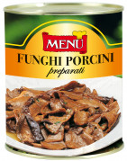 Funghi porcini preparati - Prepared Porcini Mushrooms