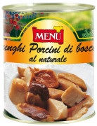 Porcini di bosco al naturale - Wild Porcini mushrooms naturally preserved