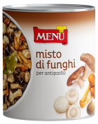 Misto di funghi per antipasto - Mixed mushrooms for appetisers