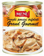 Funghi porcini trifolati Grand Gourmet - Grand Gourmet Porcini mushrooms with Olive Oil, Garlic and Parsley