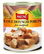 Trance di funghi porcini per antipasti - Porcini mushroom pieces for appetisers