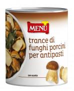 Trance di funghi porcini per antipasti (Steinpilzstücke für Vorspeisen)