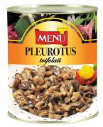 Funghi Pleurotus trifolati - Pleurotus Mushrooms with Olive Oil, Garlic and Parsley