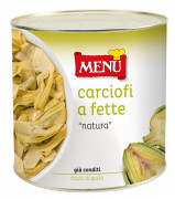"Carciofi a fette ""natura"" - ""Natura"" artichoke slices"