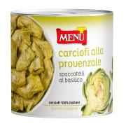 Carciofi alla provenzale (Artichauts à la provençale)