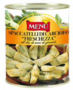 "Spaccatelli di carciofo ""freschezza"" all'olio di semi - ""Freschezza"" artichoke quarters in sunflower seed oil"