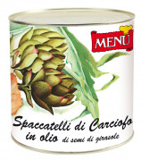Spaccatelli carciofi all'olio di semi di girasole – Artichoke slices in sunflower seed oil