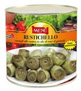 Rustichello carciofi alla rustica (Artischocken nach Bauernart)