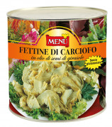 Fettine di carciofo in olio di semi di girasole - Sliced artichokes in sunflower seed oil