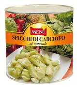 Spicchi di carciofo al naturale - Artichoke wedges naturally preserved