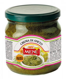 Crema di Aneto - Dill Cream Glass jar 380 g nt. wt.