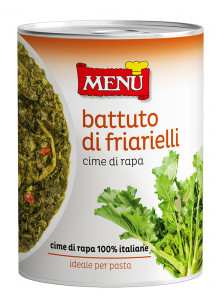 Battuto di friarielli – Turnip tops paste Tin 400 g nt. wt.