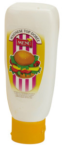 Maionese Dorée  - Doreé  Mayonnaise Top-down squeeze bottle 460 g nt. wt.
